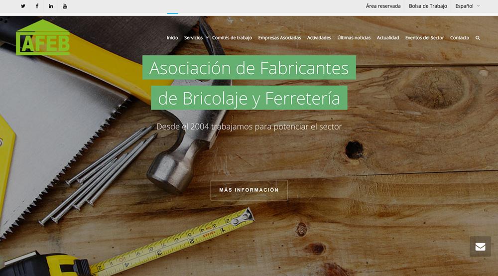 Nueva web AFEB