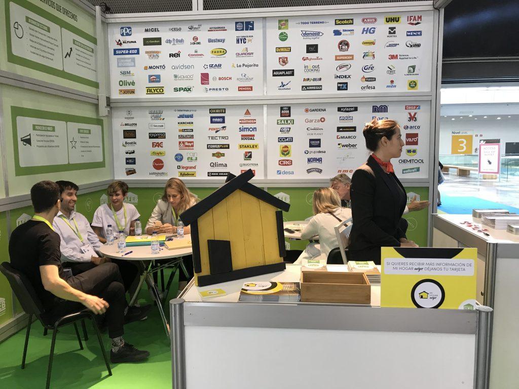 Eurobrico 2018: Los influencers participan en la feria de la mano del proyecto Mi Hogar Mejor de AFEB