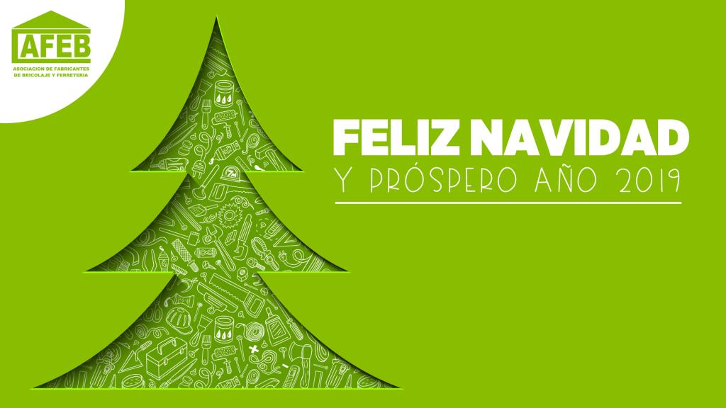 Feliz Navidad y próspero 2019