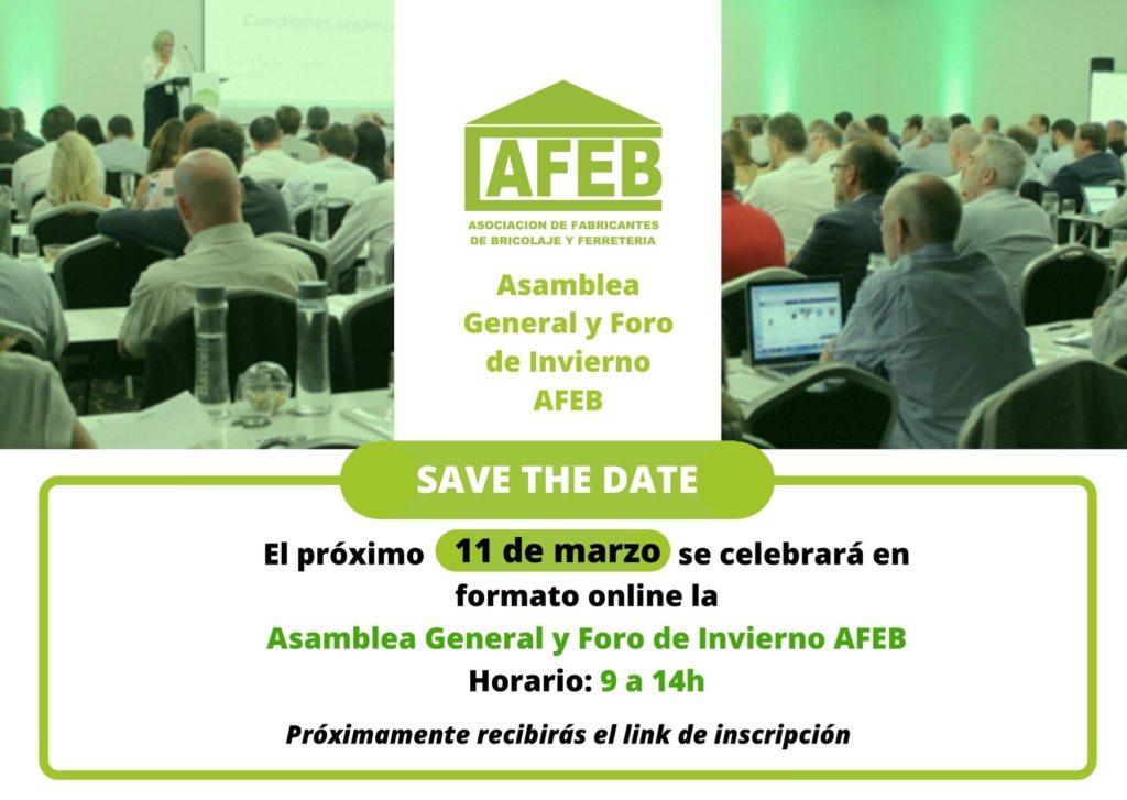 AFEB celebrará la Asamblea General y Foro de Invierno 2021 en formato online